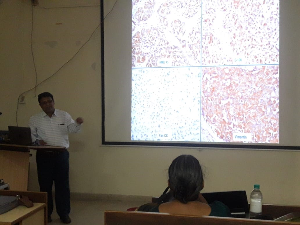 Guest Lecture in Pathology by Dr. Shantveer Uppin