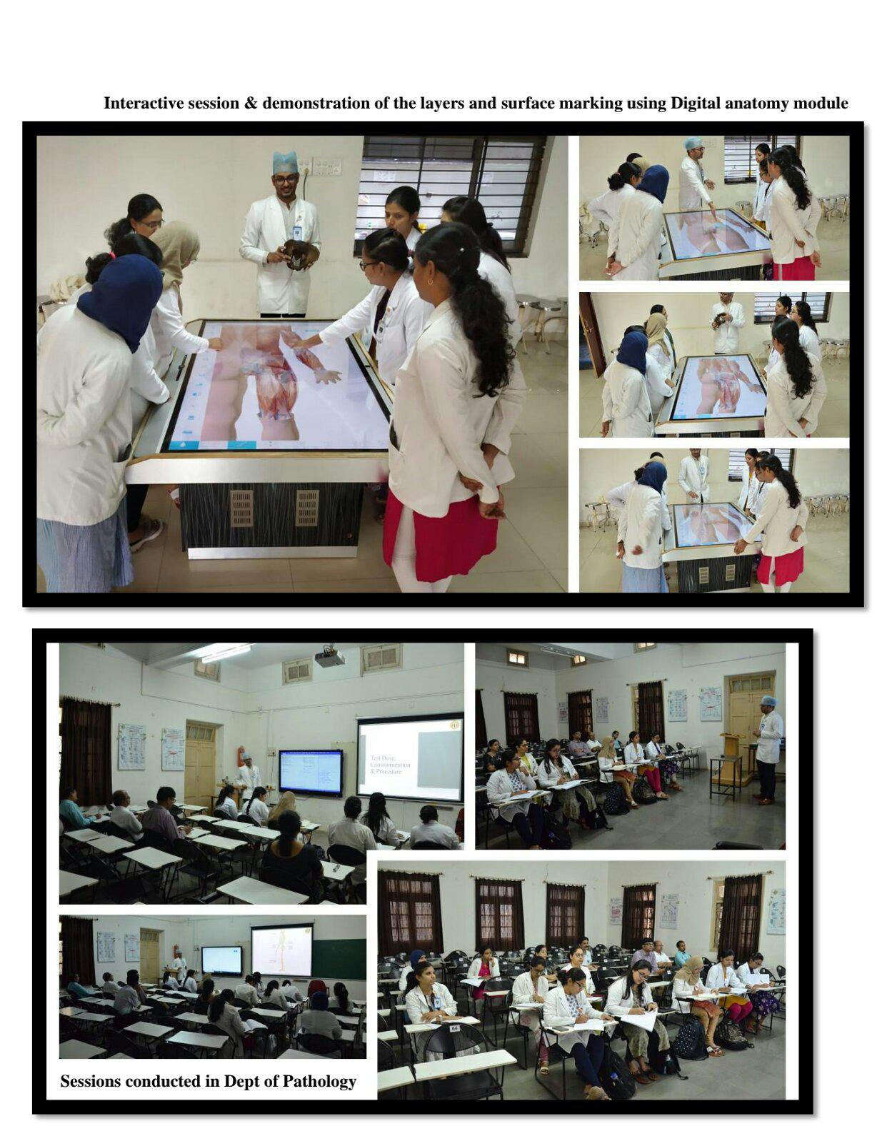 Workshop on Cadaver based Bone-Marrow study