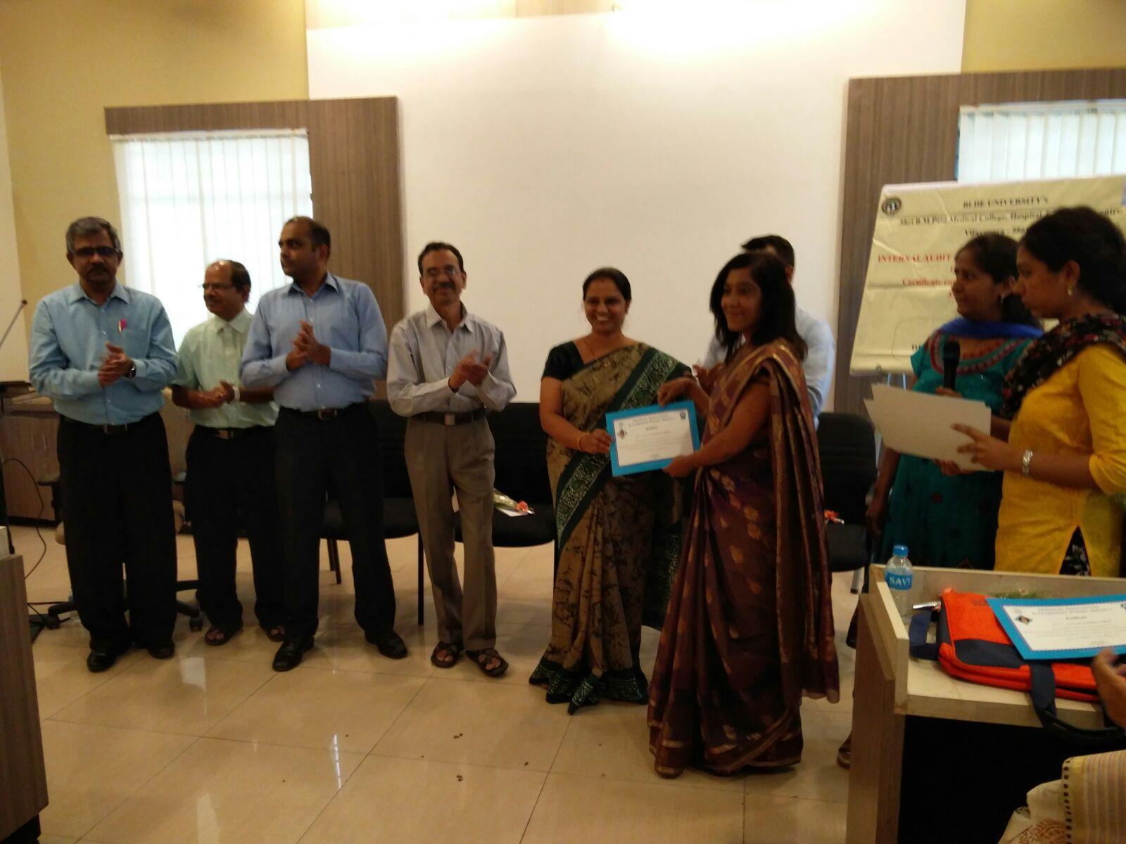 Workshop on Internal Audit & Quality Management System