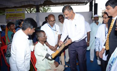 DISTRIBUTION OF AIDS AND APPLIANCES TO PEOPLE WITH DISABILITIES