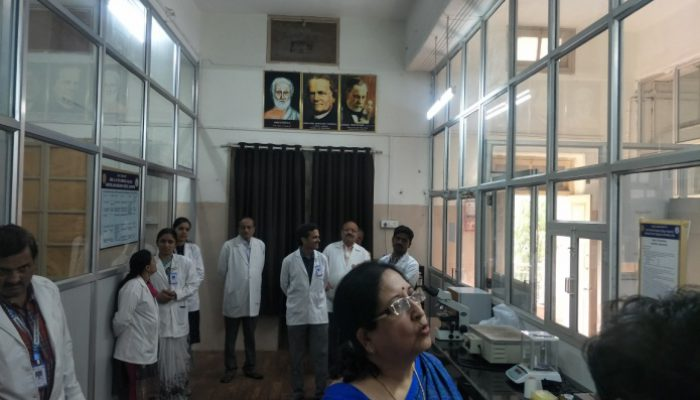 DEPARTMENTAL VISIT BY GUESTS Dr Seema Madan formar HOD Anatomy Gandhi Medical College, Hyderabad, Head-Post Graduate Department as Consultant MCI, Headed Medical Ethics Department as Consultant MCI Visted our Department on 16-01-2020.